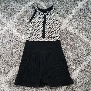 Romeo and Juliet Couture Black Dress Medium